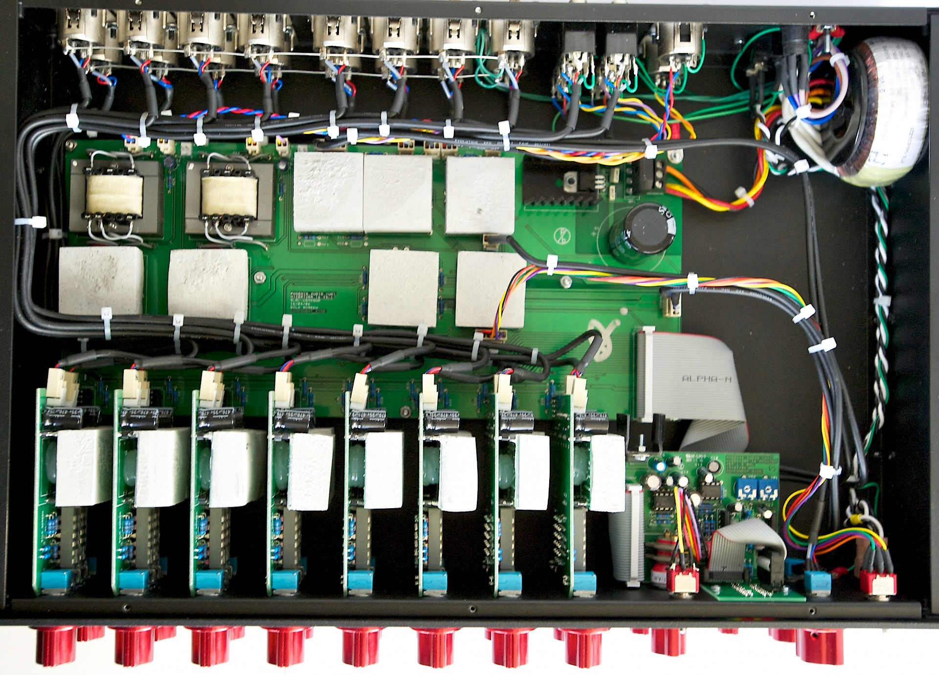 Nicerizer 16 Mk2 Phoenix Audio Supply Summing Amplifier For Mixer Circuit Schematic Diagram Inside View